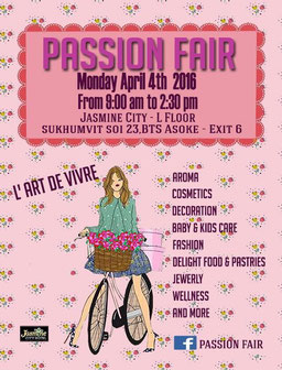#passionfair#jasminecityhotel#what'supinbangkok#shoppingbangkok#