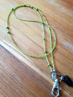 #badgenecklace#tinarts#tin-a-rts#green