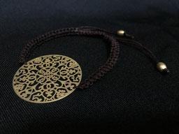 #bracelet#brown#goldplated#tinarts#bangkok