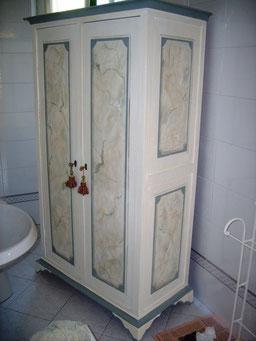 Monza - armadio decorato