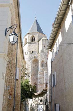 Le clocher Saint-Martin à Sorèze - crédit photo : Couleur Média