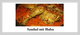 Zum Rezept Sambal mit Huhn