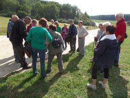 Wanderung am 18.09.2016 mit Mitgliedern des NABU Altkreis Hofgeismar (Foto: R. Schwerin)