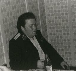 Wehrleiter Klaus Wricke