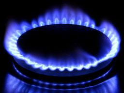Gas combustible en fogón de cocina