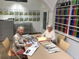Das Team im Mohr-Villa Archiv