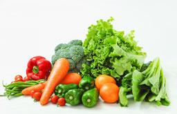 麻布十番パーソナルジムの野菜盛り合わせ