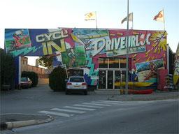 peinture aérographe façade