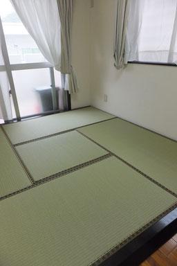 フローリング 畳間
