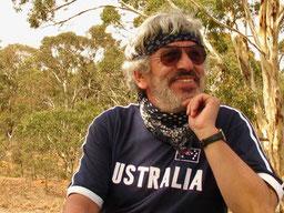 Pause im Outback von Australien