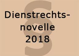 Dienstrechtsnovelle 2018 Bild:spa