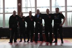 v.r. Lutz Volkmann, Markus Schnibbe, Thomas Melzer, Sven Wegewitz, Stefan Gudegast, Carsten Fischer