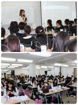京都理容美容専修学校様 イアーアート 特別授業 2016 講師 会長