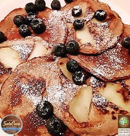 Rezept für Pfannkuchen - Pancakes mit SoloCoco