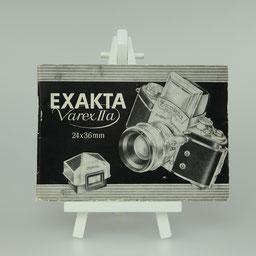 Gebrauchsanleitung Jhagee Exakta Varex IIa D-Version   ©  engel-art.ch