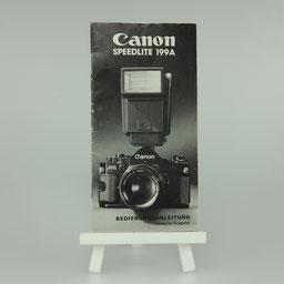Gebrauchsanleitung CANON Speedlite 199A   ©  engel-art.ch