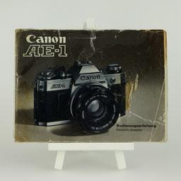 Gebrauchsanleitung CANON AE-1   ©  engel-art.ch