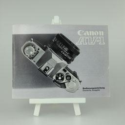 Gebrauchsanleitung CANON  AV1   ©  engel-art.ch