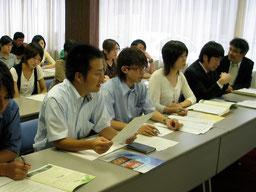 青年の雇用問題の解決を求めて県と交渉