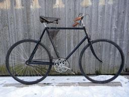 Bausatz-Fahrrad von Jules Allas Luquetas, Fundzu- stand