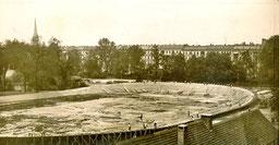 Radrennbahn Botanischer Garten Berlin, 1908 (im Bau)