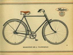 Wanderer Nr. 2, Katalogblatt von 1928