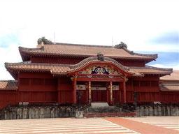 首里城本殿 木造の歴史的建造物