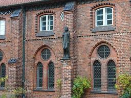 """""""Der Bettler"""" (Barlach), Ratzeburg Dom"""