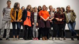 """Jury 2015 en présence de Léa FEHNER, réalisatrice de """"Les Ogres"""""""