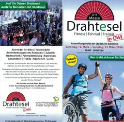 Besuchen Sie unseren e-Bike Stand auf der Drahtesel Messe in Bielefeld