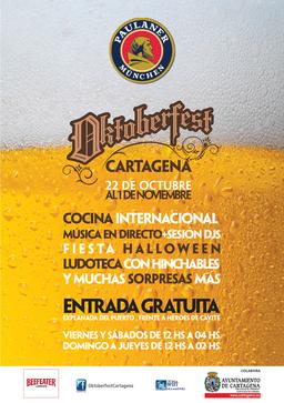 Oktoberfest en Cartagena