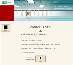 Das Standortanalyse-Tool für Strukturanalysen und Rankings