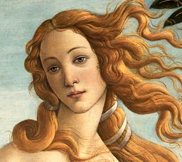 Botticelli, Venus (Detail), Florenz Uffizien