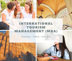 """Die Vorlesungen im Master-Studiengang """"International Tourism Management"""" finden am Bodensee Campus in Konstanz und in Palma de Mallorca statt."""