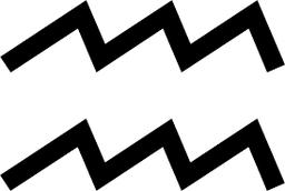 les deux vaguelettes du verseau