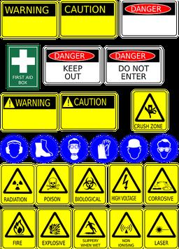 Fiches de données de sécurité avertissements