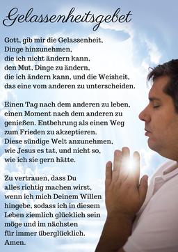 Gelassenheitsgebet, verlängerte Version, Geistheiler Jesus Lopez