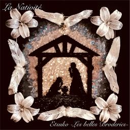 オートクチュール刺繍、アート刺繍、リュネビル刺繍 成田悦子 Etsuko Narita Etsuko -Les belles Broderies-