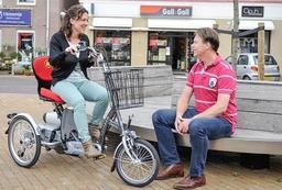 Easy Go Scooter: Behindertengerechtes Dreirad