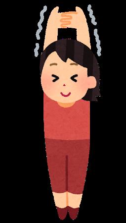 肩こりイラスト(奈良市・八起堂治療院)