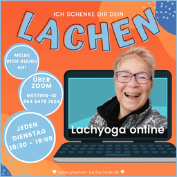 Lachyoga online Sommertermine