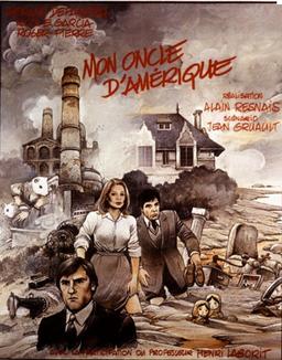 """Affiche du film """"Mon oncle d'Amérique"""""""