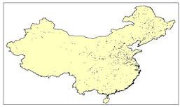 CHINA URBAN AREAS