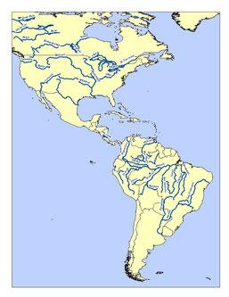 RÍOS DE AMÉRICA