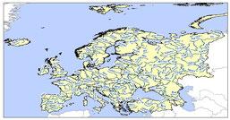 EUROPE RIVERS