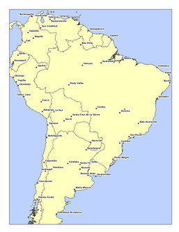 SOUTH AMERICA CITIES