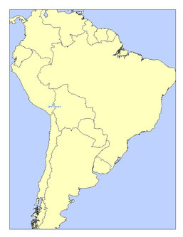 SOUTH AMERICA LAKES