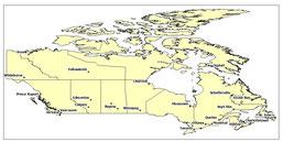 CIUDADES DE CANADÁ