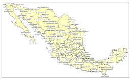 CENTROS URBANOS DE MÉXICO