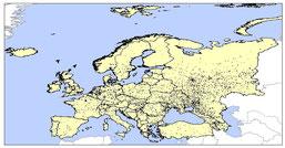 Europe Shapefiles (* shp) - Geografía, SIG y Estudios